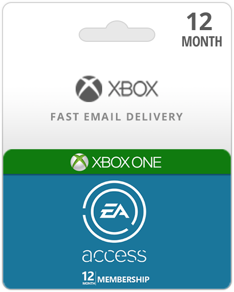 12 Month EA Access Xbox Live Gift Card